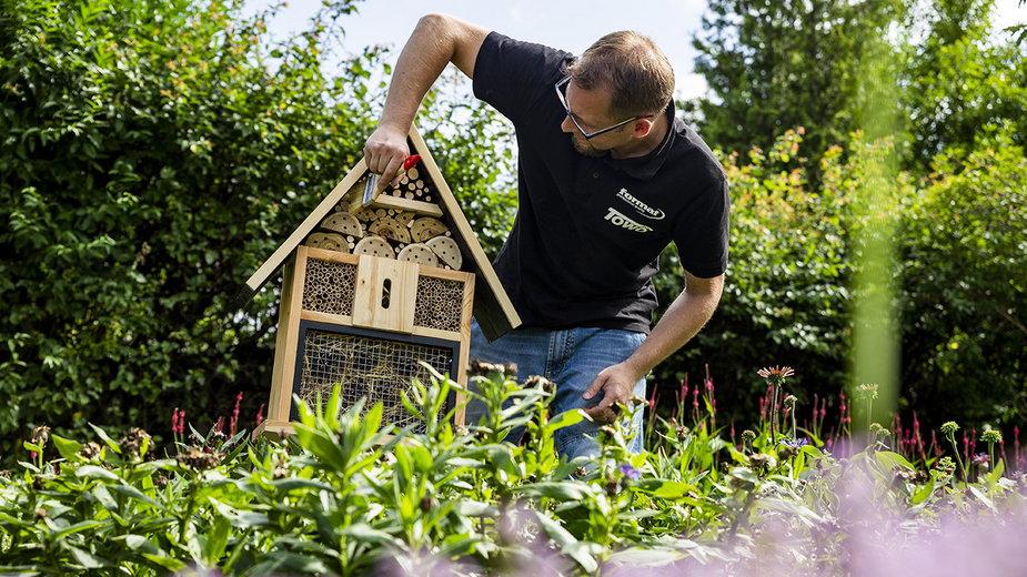 Gdynia stawia na zapylacze i buduje kolejne domki dla owadów