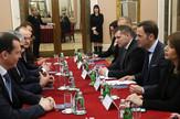 Siniša Mali i delegacija Rusije