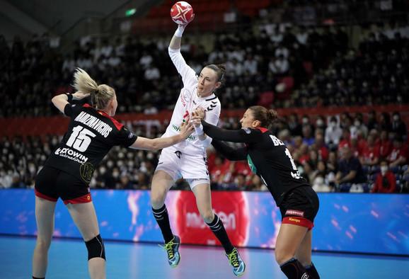 Kristina Liščević, strelac gola za trijumf nad Nemačkom