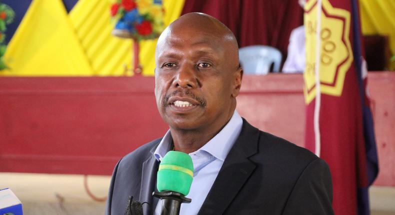 Baringo Senator and KANU party leader Gideon Moi