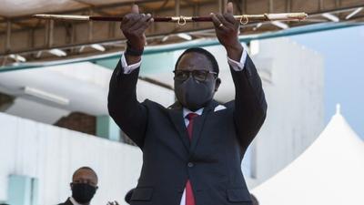 COVID-19: Malawi's President Lazarus Chakwera calls on citizens to fast and pray