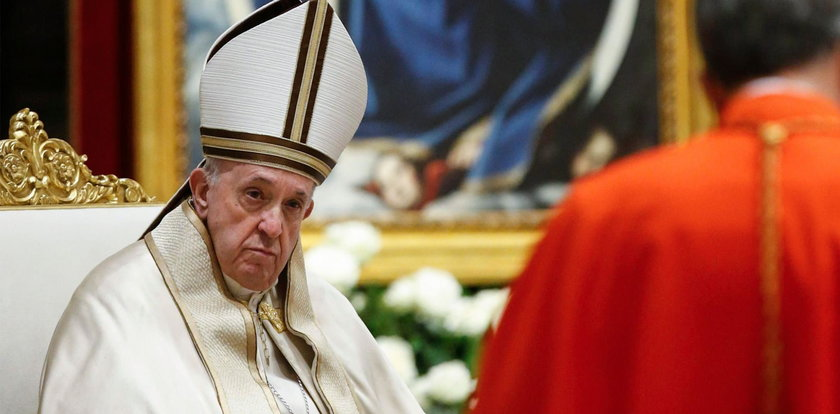Papież rozdał lekarstwa na święta