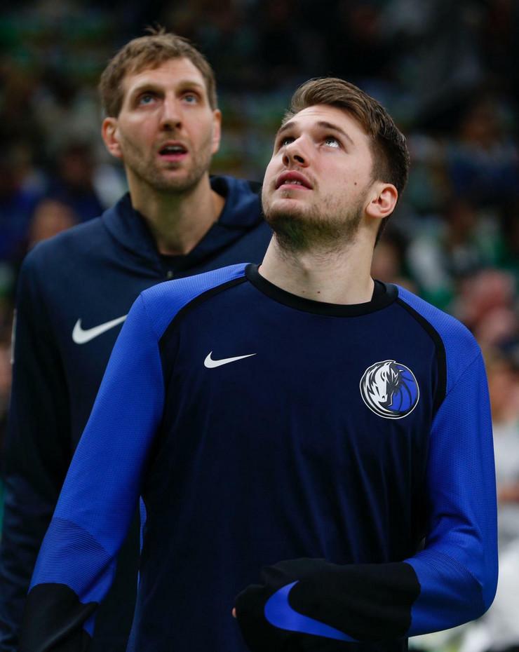 Luka Dončić, Dirk Novicki