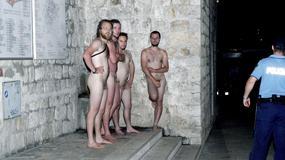 Nadzy Niemcy w Dubrowniku. Czterech turystów spacerowało nago po najsłynniejszym mieście Chorwacji