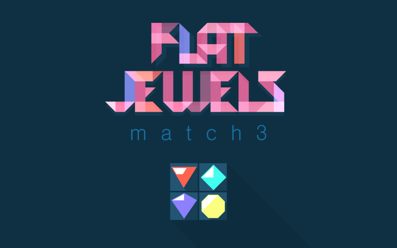 gameplanet Flat Jewels: Match 3