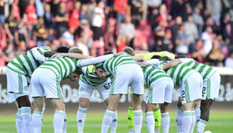 Celtic made a poor start to their season with a Champions League qualifying defeat by FC Midtjylland Creator: Bo Amstrup