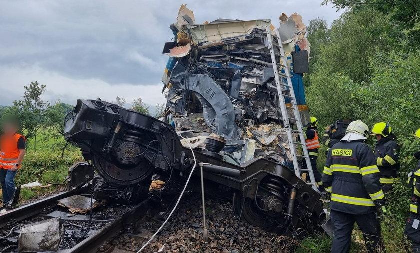 Czechy. Zderzenie dwóch pociągów. Są ofiary śmiertelne