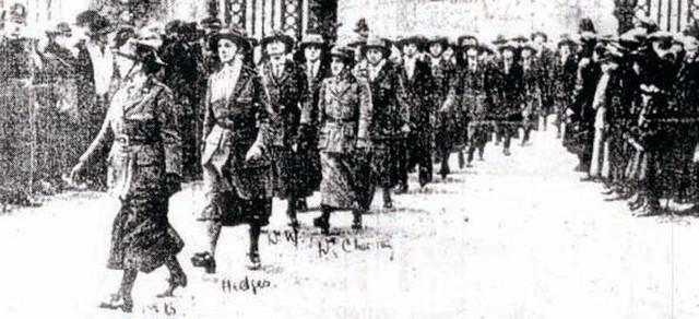 Škotske bolničarke u Srbiji