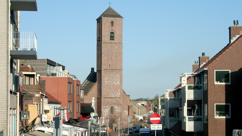 Ulica handlowa w Beverwijk