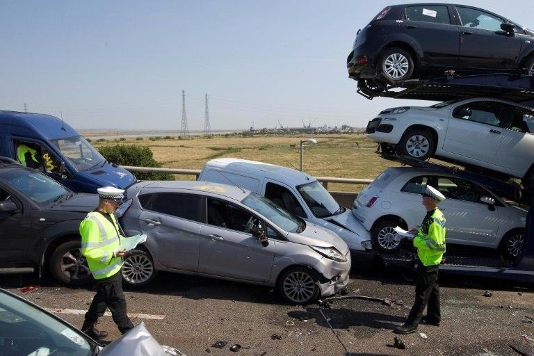 A World Health Organization report shows that some 1.35 millioin people die every year around the world as a result of traffic accidents