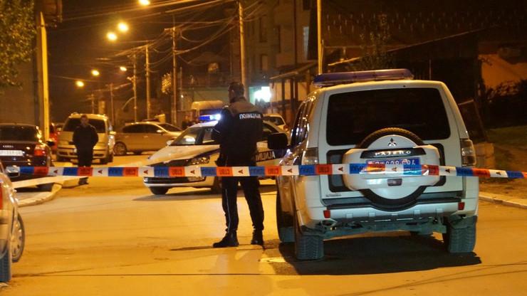 NOVIPAZAR01 Policija vrssi uvidjaj  nakon pucnjave foto N. Koccovich