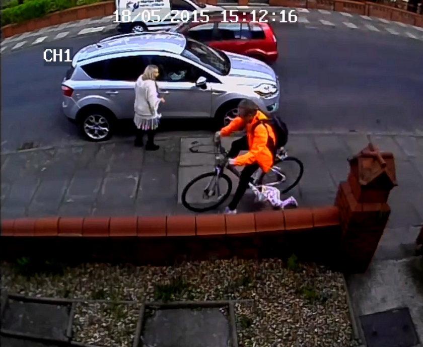 Rowerzysta potrącił dziecko i uciekł