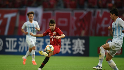 Oscar hits hat-trick to fire Shanghai SIPG into AFC last 16