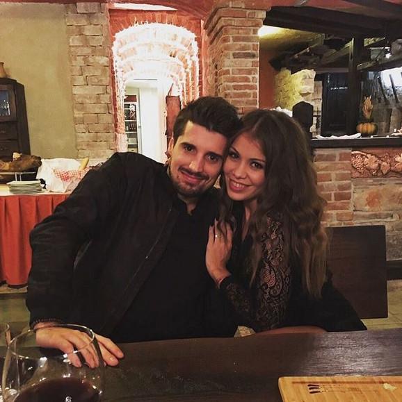 Luka Šulić sa suprugom