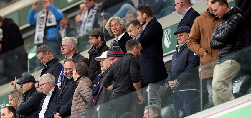 Zaskakujące, kto obok siebie siedział na meczu Legii z Lechem!