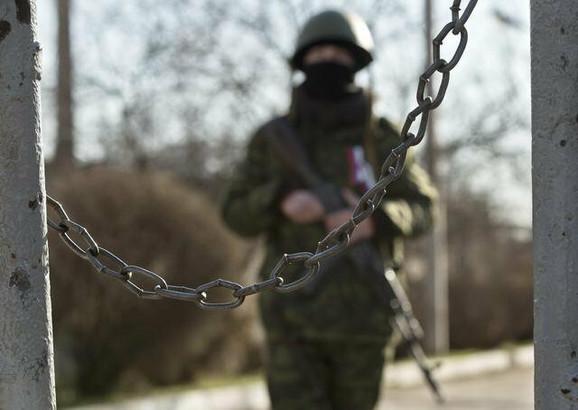 Pripadnik novooformljene vojske Krima