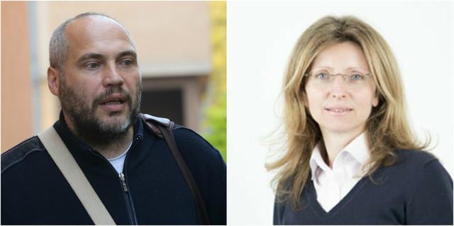 Asistent Dragoljub Borojević i profesorka Milena Stavrić