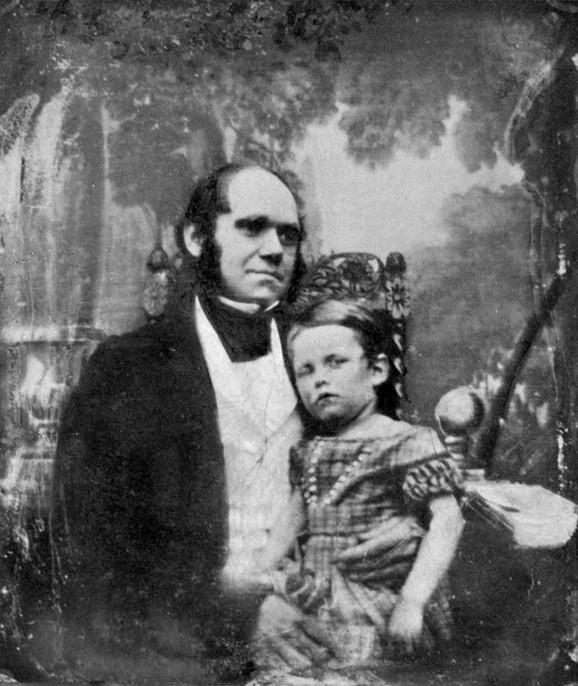 Čarls Darvin sa sinom Vilijamom