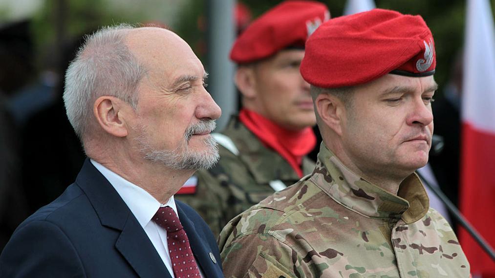 Antoni Macierewicz i generał Połuch