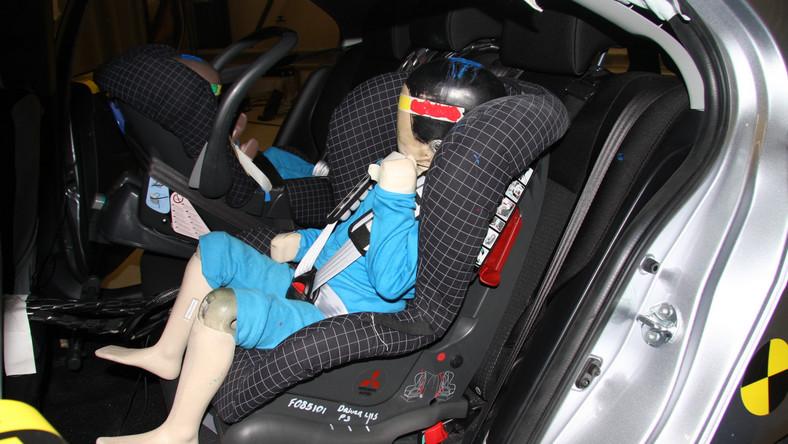 Mitsubishi Lancer - ochrona dzieci: 80 proc.
