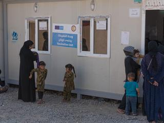 Dibaga Camp for Internally Displaced in Iraq