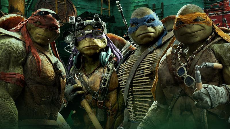 """""""Wojownicze Żółwie Ninja: Wyjście z cienia"""": kadr z filmu"""