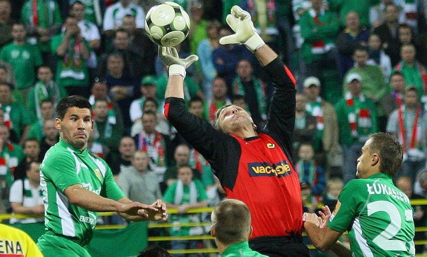 Bramkarz Kamil Lech często porównywany jest do taty Piotra
