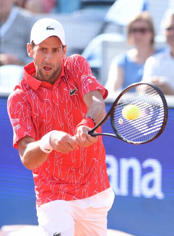 Novak Đoković na turniru Adria tour u Beogradu