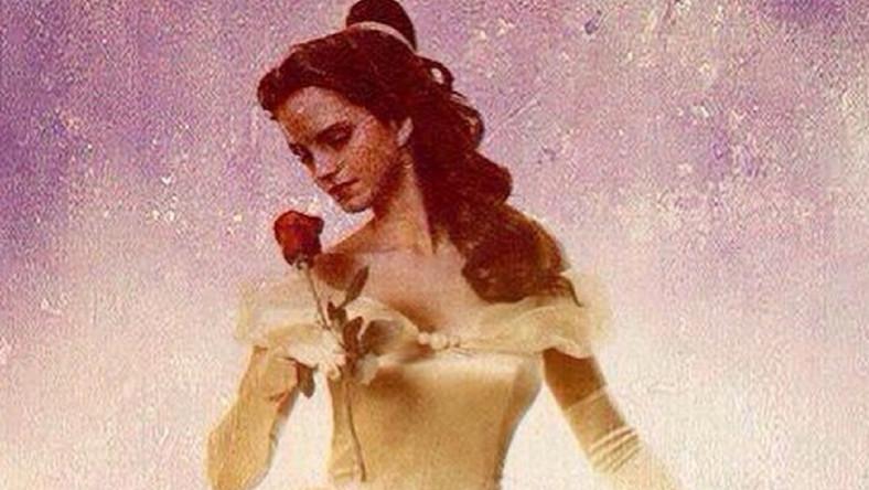 Emma Watson piękną u boku Bestii