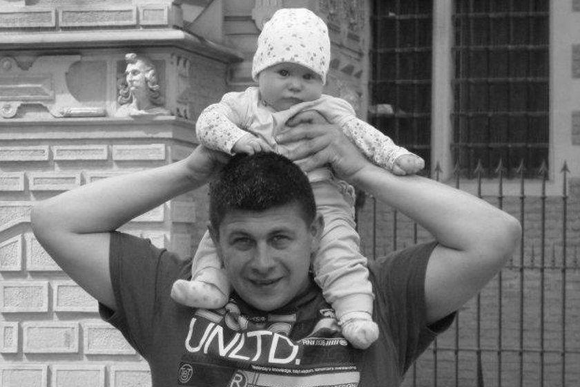 zamordowani w Gdańsku Adam K. (+ 33 l.) i jego córka Nina (+ 14 mieś.)