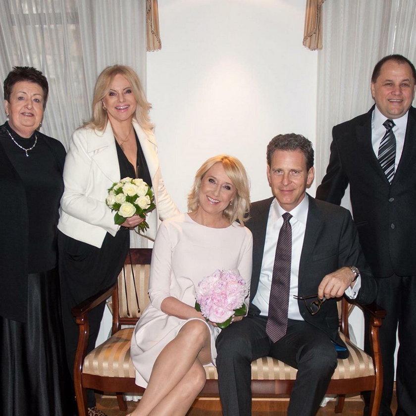 Ślub Agaty Młynarskiej
