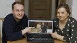 Niezwykła uroczystość w czasie pandemii. Natalia i Maciej zaprosili gości na ślub online