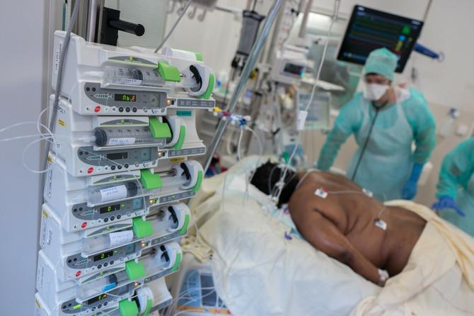 Pacijenti na respiratoru često se okreću na stomak