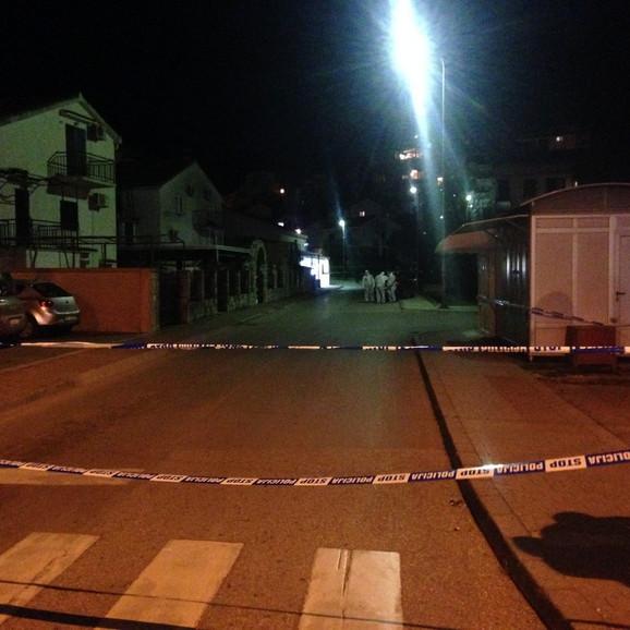 Šaranović je ubijen u blizini svoje kuće/ Foto: Vijesti Vuk Lajović