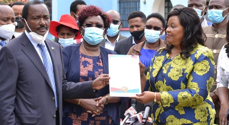 Wiper party picks former Senator Johnstone Muthama's ex-wife Agnes Kavindu to vie for the Mchakos Senatorial seat