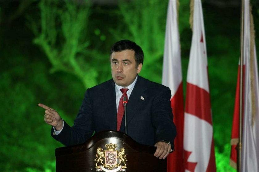 Saakaszwili utknął we Włoszech