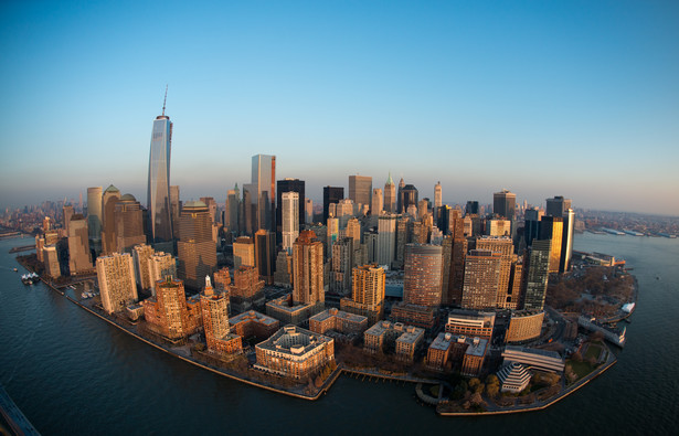 Nowy Jork - widok na Manhattan