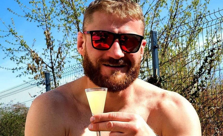 Jan Błachowicz zdradził ile zarobił za pierwszą walkę MMA
