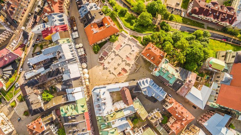 Lublin z lotu ptaka