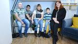 """Rodzina z niepełnosprawnym chłopcem otrzymała pomoc od ekipy programu """"Nasz Nowy Dom"""""""