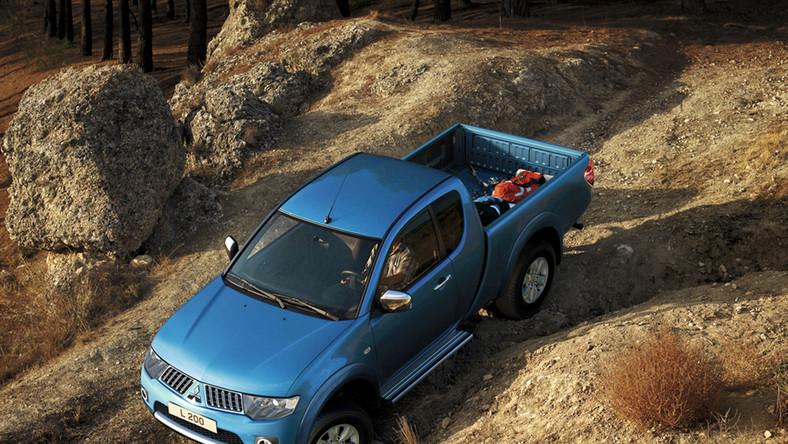 Mitsubishi L200 - to najlepszy wózek dla zapracowanych