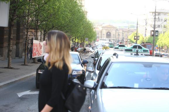 Blokirana Nemanjina ulica
