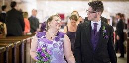 Narzeczona 1000 godzin robiła na drutach suknię ślubną
