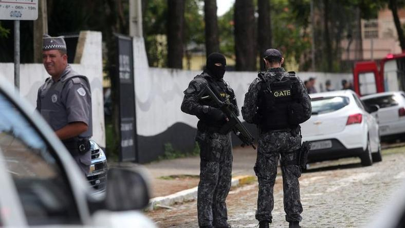 9 dead, including 5 children, in Brazil shooting 17 others also shot (Reuters)