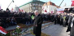 Kaczyński poruszony. Nie był w stanie przemawiać?