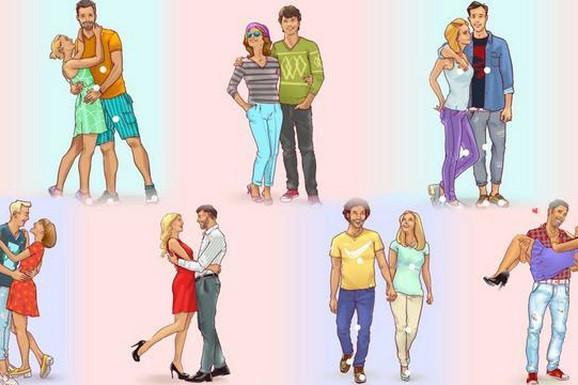 Izaberite fotografiju ZALJUBLJENOG PARA i ona če vam otkriti vaš odnos prema LJUBAVI