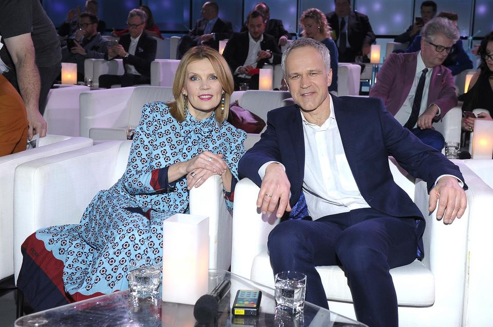 Dorota Chotecka i Radosław Pazura