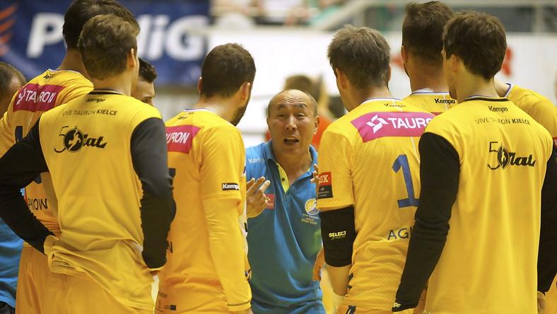 Trener Vive Tauron Kielce Tałant Dujszebajew