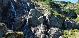 Największy polski wodospad praktycznie przestał istnieć