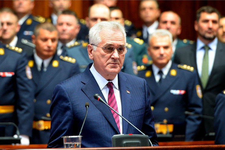 Tomislav Nikolić, Škola nacionalne odbrane